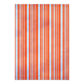 STRIPES52 CANDYCANE COLORFUL STRIPES RED  BLUE PAT CARD