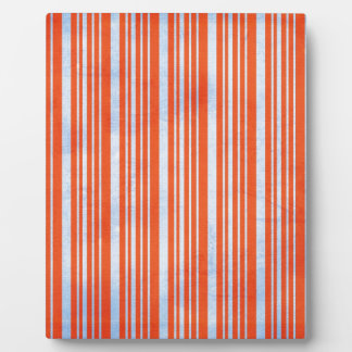STRIPES52 CANDYCANE COLORFUL STRIPES RED  BLUE PAT DISPLAY PLAQUES