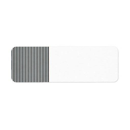 stripes54-navy NAVY BLUE STRIPES PATTERNS SAILOR S Label