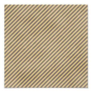 stripes63-tan STRIPES TAN BROWN BUSINESS PATTERNS Photo Print