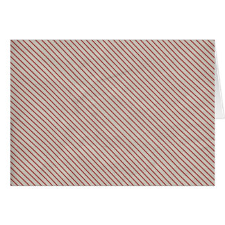 STRIPES67 RED WHITE CANDY-CANE STRIPES PATTERNS BA CARD