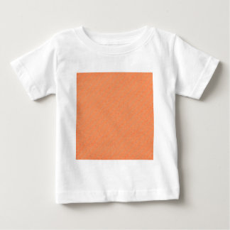 stripes75-orangegray ORANGE PEACH GREY STRIPES PAT Baby T-Shirt
