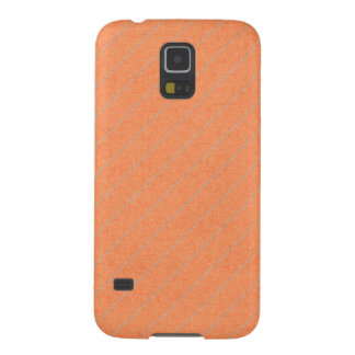 stripes75-orangegray ORANGE PEACH GREY STRIPES PAT Cases For Galaxy S5