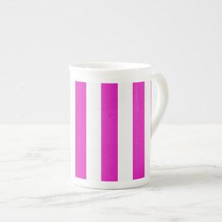 STRIPES adjustable Pink Tea Cup