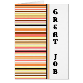Stripes Administrative Professionals Day Card