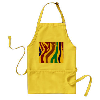Stripes Adult Apron