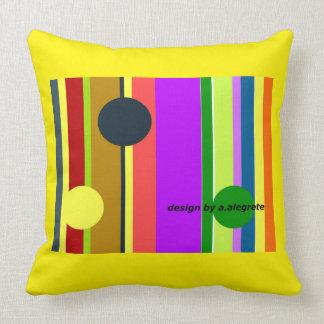 stripes almofada cheerful pillow