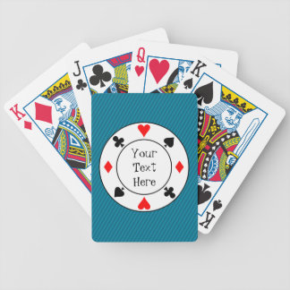 Stripes and Chip Playing Cards Bicycle Playing Cards