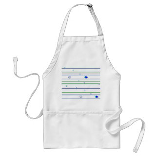 Stripes and Circles, Stripes and Circles Adult Apron