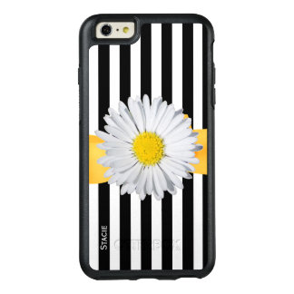 Stripes and Daisy Otterbox iPhone 6 Plus Case