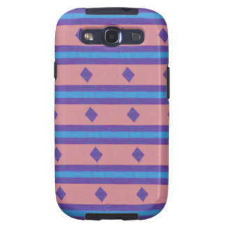 stripes and diamonds pattern galaxy s3 case