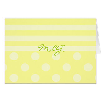 Stripes and Dots and... Card