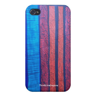 Stripes and Lines iPhone 4/4S Matte Case