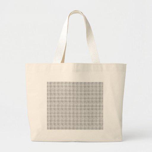 Stripes and Plaids Tote Bag