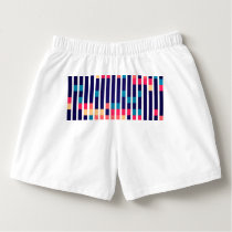 Stripes and rectangles pattern boxers