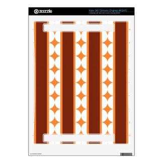 Stripes and rhombus pattern xbox 360 skin