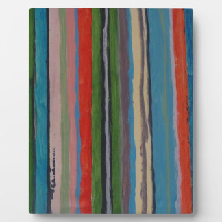 Stripes and Stripes - by S B Eazle Photo Plaques