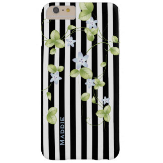 Stripes and Vines Custom iPhone 6 Plus Case