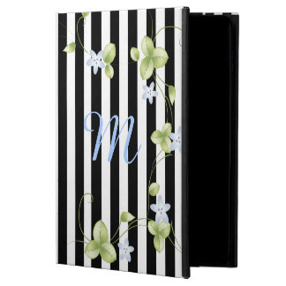 Stripes and Vines Monogrammed iPad Air 2 Case Powis iPad Air 2 Case