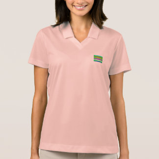 Stripes Art Green Tee Shirts