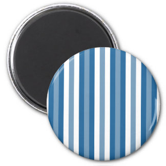 Stripes Background Blue and White Refrigerator Magnet
