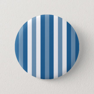 Stripes Background Blue and White Pinback Button