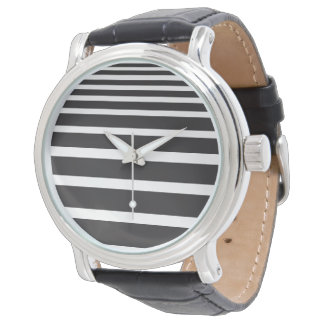 Stripes & Bands Watch