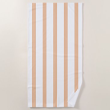 Beach Themed Stripes Beach Towel