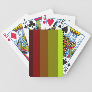 Stripes Bicycle Playing Cards