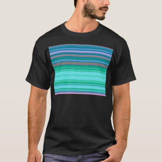 Stripes blue and green created by Tutti T-Shirt