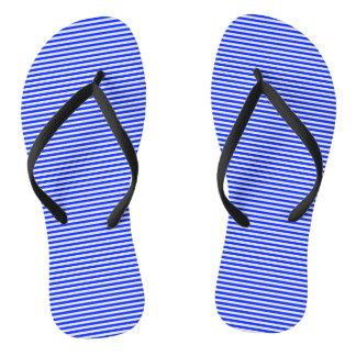 STRIPES - BLUE COBBLER xl ~ ~.png Flip Flops