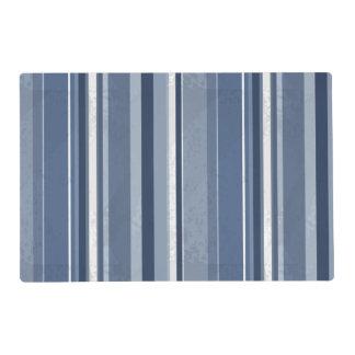 Stripes Blue Placemat
