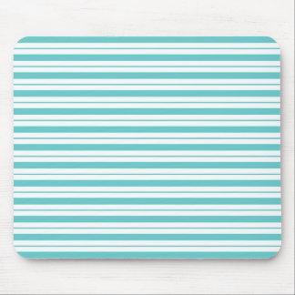 Stripes--Blue_Serene_Unisex Mouse Pad