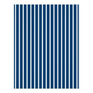 Stripes Blue White Baby Scrapbook Paper Letterhead