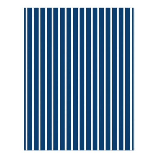 Stripes Blue White Baby Scrapbook Paper Personalized Letterhead