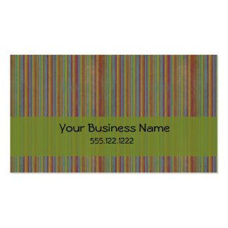 Stripes Double-Sided Standard Business Cards (Pack Of 100)