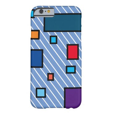 Stripes Barely There iPhone 6 Case