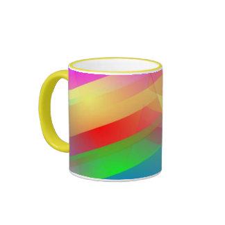 stripes ceramic mug by Roland Ally