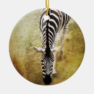 Stripes Ceramic Ornament