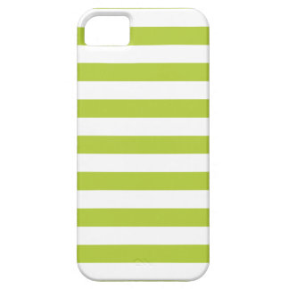 Stripes Chartreuse Green iPhone 5/5S Case