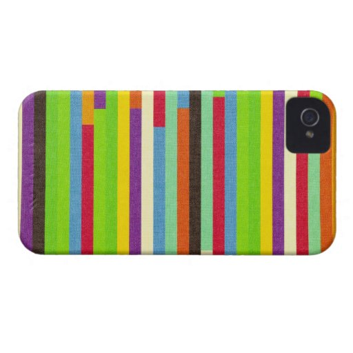 Stripes colorful abstract background pattern, gift Case-Mate blackberry case