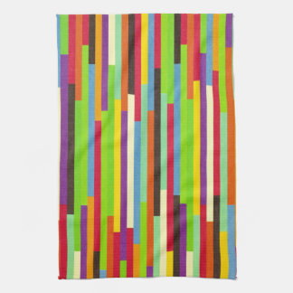 Stripes colorful abstract background pattern, gift hand towel