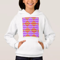 Stripes, Diamonds, Spot Pattern by Shirley Taylor Hoodie