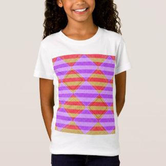 Stripes, Diamonds, Spot Pattern by Shirley Taylor T-Shirt
