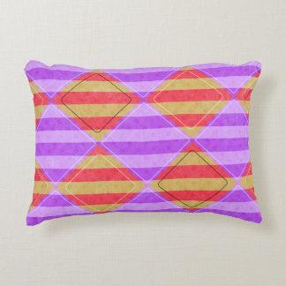 Dark Coral Color Pillows - Decorative & Throw Pillows Zazzle