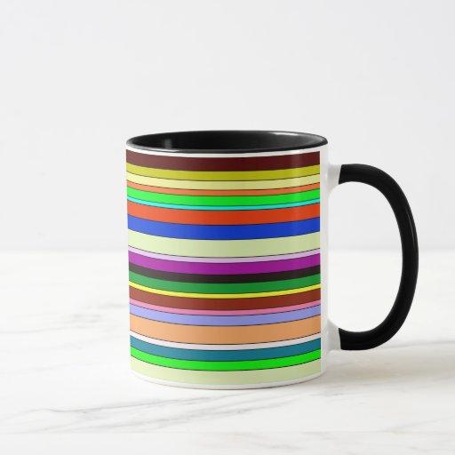 stripes-different colors(Neutrals) Mug