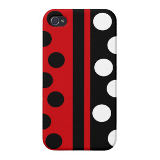 Stripes & Dots Case Savvy iPhone 4 Case For iPhone 4