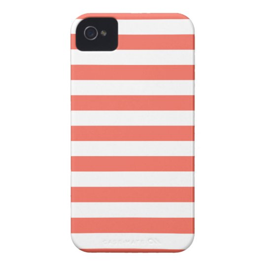 Stripes Emberglow Iphone 4/4S Case