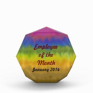 Stripes_Employee abstracto del premio del mes
