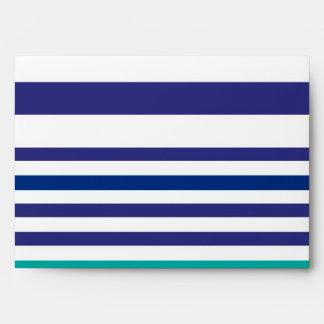 stripes envelope